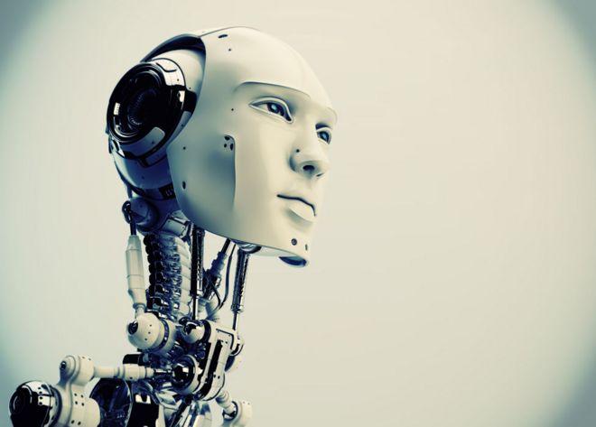 Cara de robô