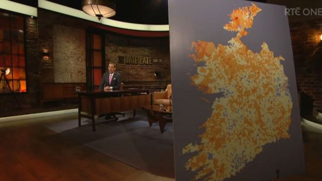 Screenshot Of Late Show With The Map