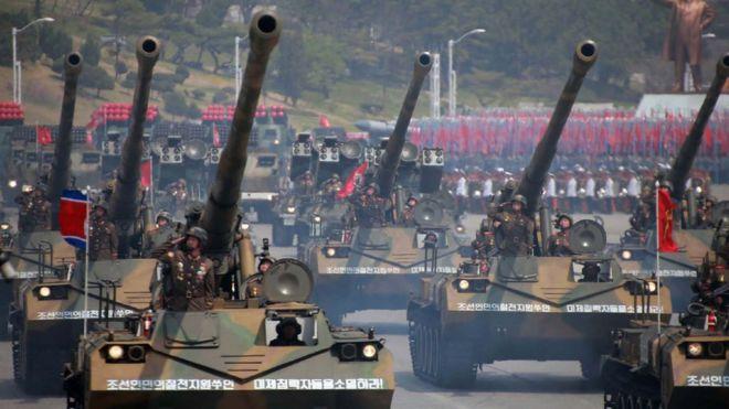 North Korea to hold military parade ahead of Winter Olympics. [ www.wap30.blogspot.com ]