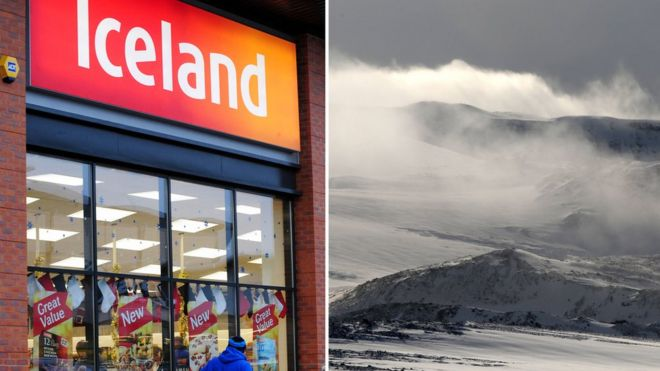 Iceland vs Iceland - store and country