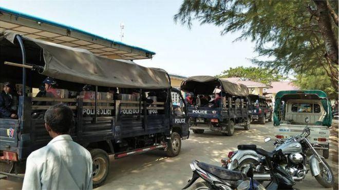 Chính quyền đã tăng cường sự hiện diện của cảnh sát do sự bất ổn