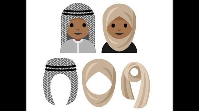Emoji ya Hijabu iliyobuniwa na binti wa miaka 15 wa Saudi Arabia