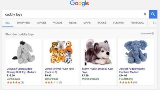 جریمه بیسابقه گوگل به علت دستکاری 'غیرقانونی' در نتایج جستجوی کالا