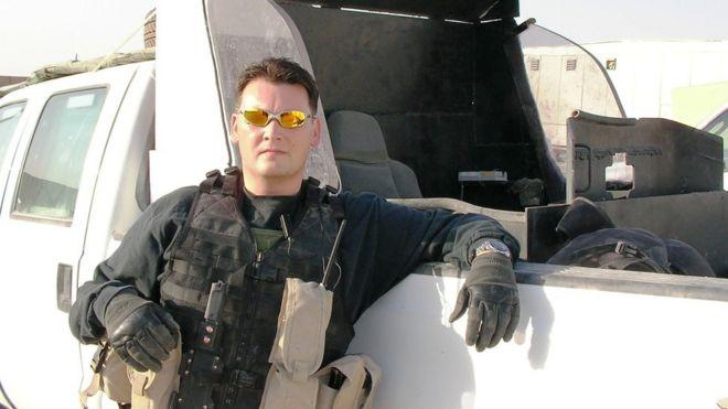 Маккуин во время работы на ЧВК в Ираке