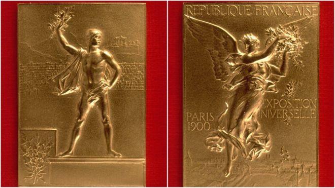 1900 medalla olímpica