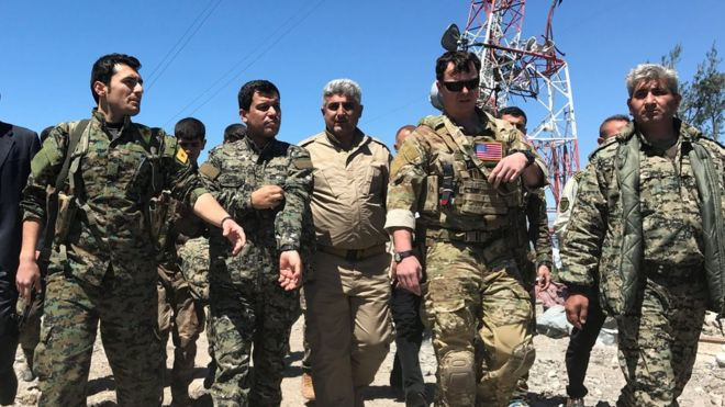 US deeply concerned by Turkish air strikes on Kurdish fighters