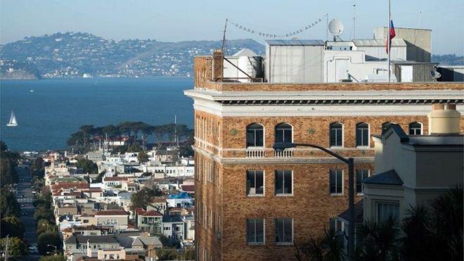 Consulado de Rusia en San Francisco, California.