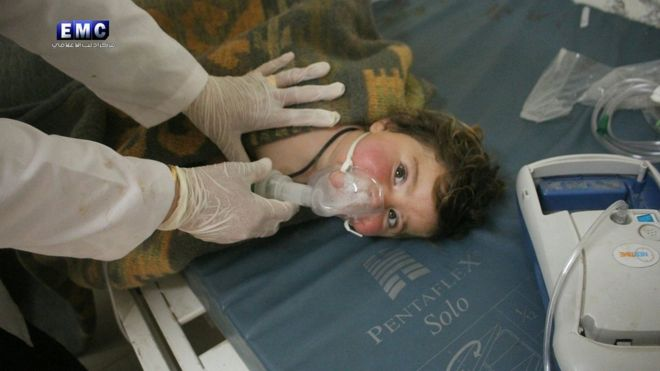 France says to provide proof on Syria government chemical weapons use