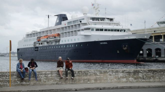Cuba Gives Green Light To US Cruises BBC News - Cruise ships to cuba