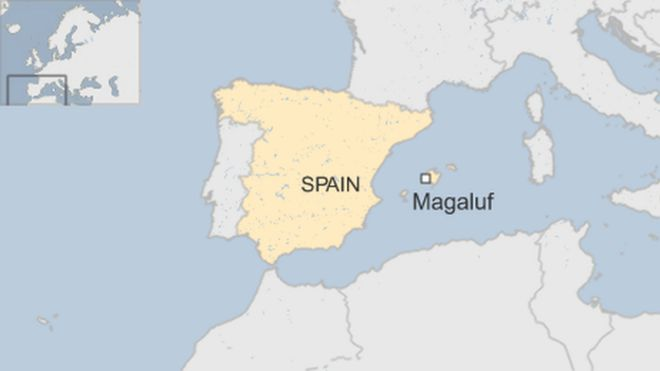 Britons arrested over Magaluf rape claim BBC News