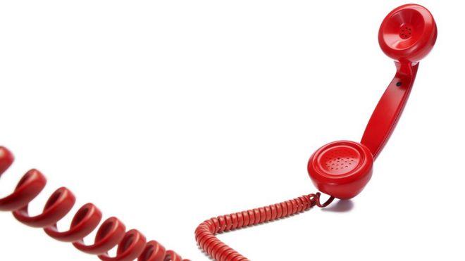 recibidor de teléfono