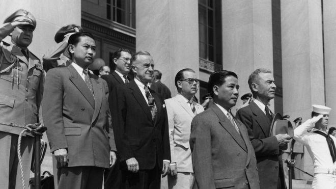 Image result for chính phủ ngô đình diệm