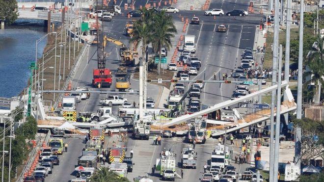 ¿Qué es un 'puente instantáneo' como el que se derrumbó en Miami?