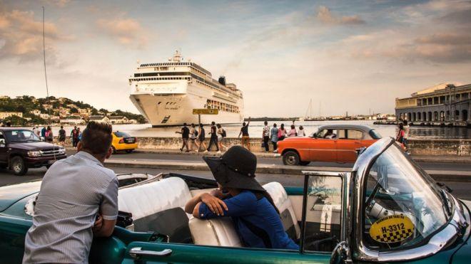 Buque en La Habana