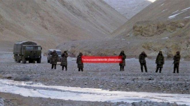چین اور انڈیا کی سرحد
