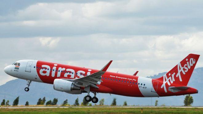 An AirAsia plane