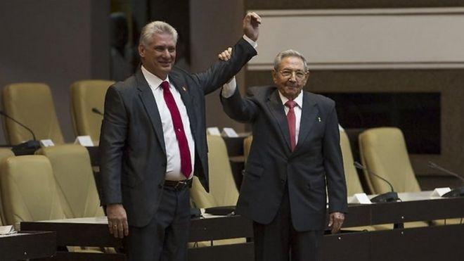 Рауля Кастро сменяет Мигель Диас-Канель