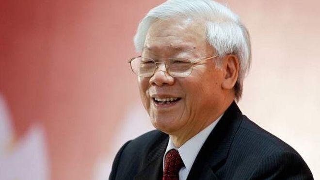 Tổng bí thư Đảng Cộng sản VN Nguyễn Phú Trọng