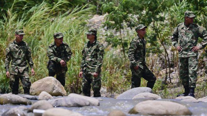 Soldados en Norte de Santander