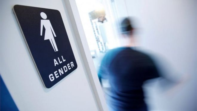 Bathroom Signs In Scotland north carolina 'bathroom' law: lawmakers pass repeal bill - bbc news