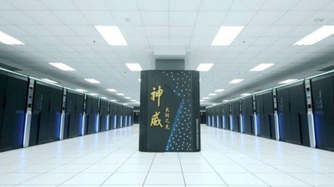 Máy nhanh nhất của Trung Quốc cũng là của thế giới, Sunway TaihuLight