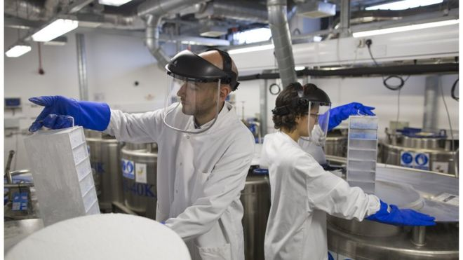 Scientists at the Cancer Research UK Cambridge Institute