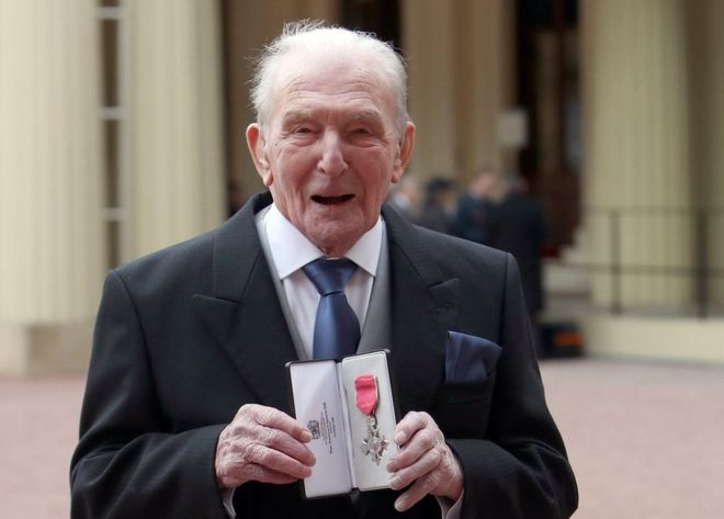 "Image result for George ""Johnny"" Johnson getting mbe"