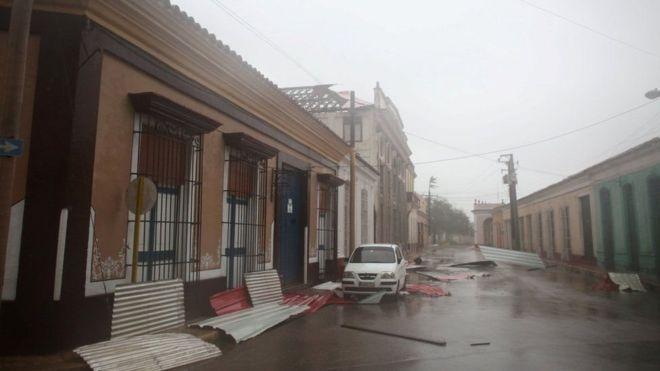 Kimbunga Irma Cuba