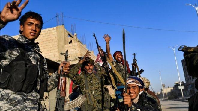 نیروهای دموکرات سوریه تبدیل به گروهی مورد اعتماد آمریکا شدند