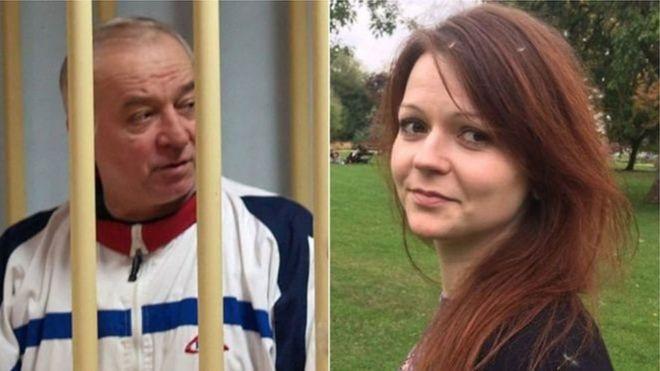 Cựu điệp viên Sergei Skripal và con gái Yulia