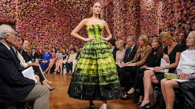 Christian Dior Couture fashion show