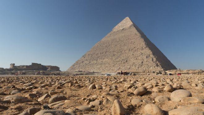 A Grande Pirâmide de Gizé