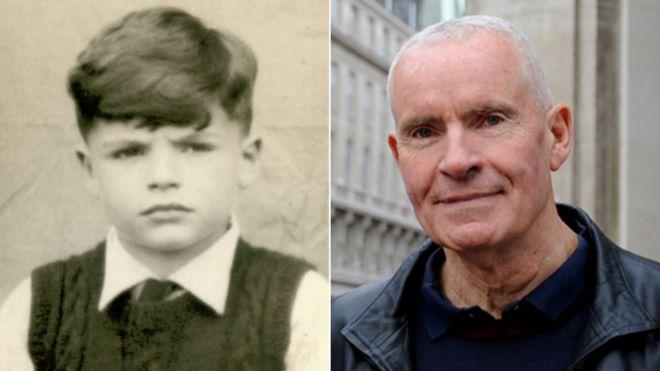 Робин Кинг в детстве и сейчас