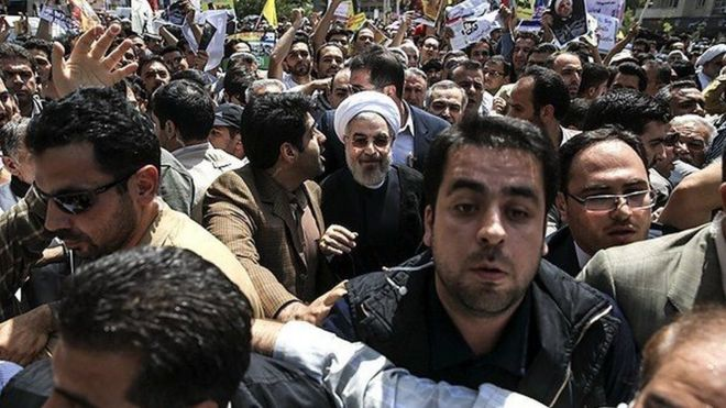 شعار علیه روحانی؛ وزیر کشور دستور معرفی 'خاطیان' را صادر کرد