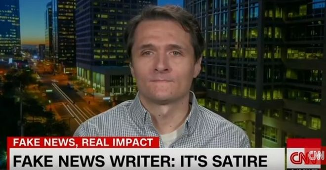 Paul Horner speaks on CNN