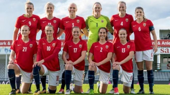 Seleção norueguesa de futebol feminino