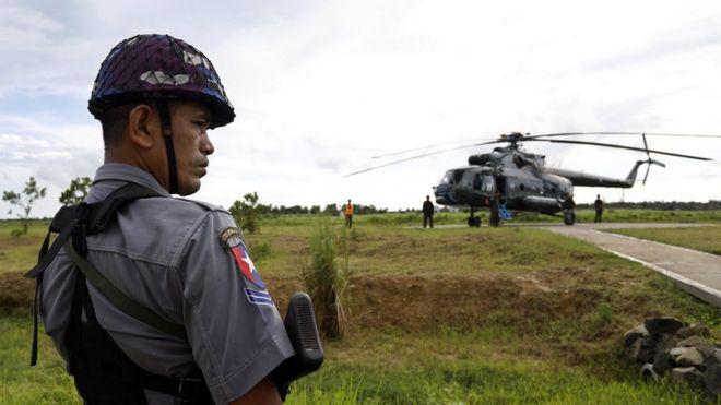 میانمار فوجی