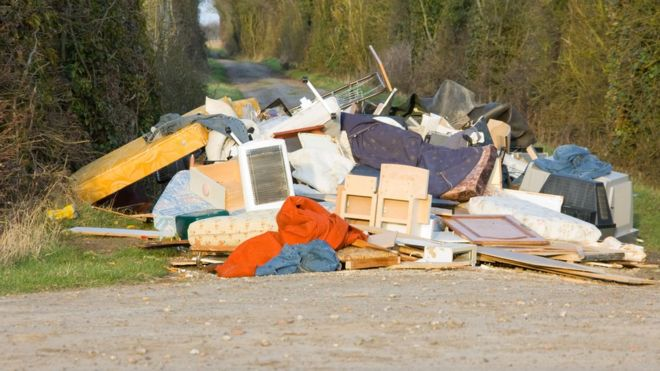 Image result for Here is the real cost of fly tipping