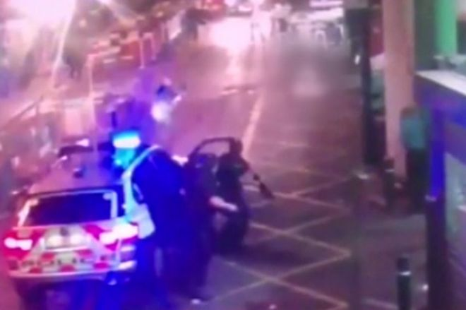 Police shooting dead London Bridge attackers