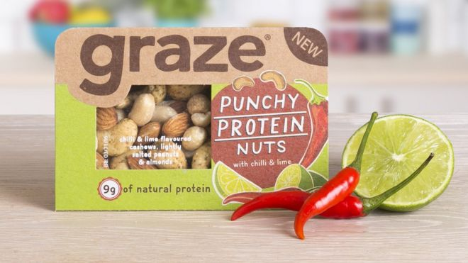 A Graze snack box