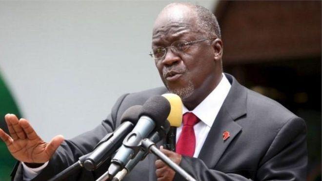 """""""hatuwezi kucha jina la nchi yetu lichafuliwa na watu wanaofanya mambo kwa maslahi yao""""- Rais wa Tanzania, John Magufuli"""