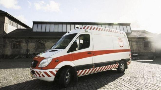 آمبولانسی که تبدیل به جایی برای سکس شده است