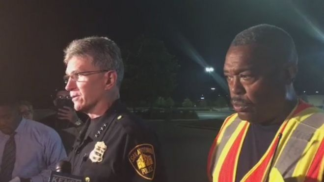 San Antonio police chief and fire chief