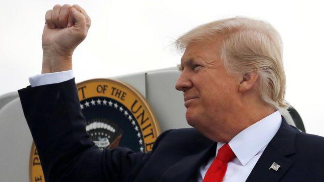 Trump Ukrayna'yı başkanlık seçimlerine müdahale etmekle suçladı