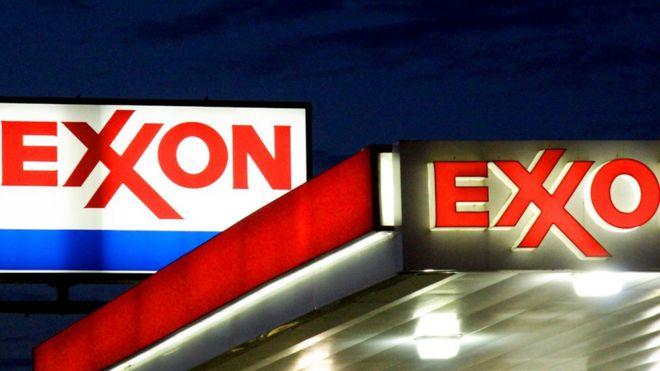 Estación de servicio de ExxonMobil