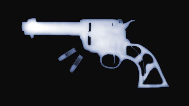 Arma em raio-x