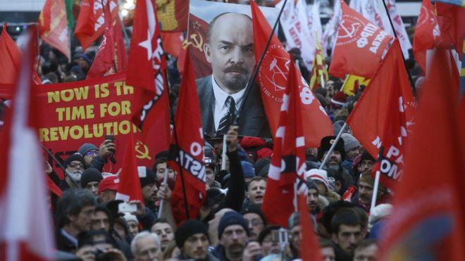 俄羅斯民眾舉行集會