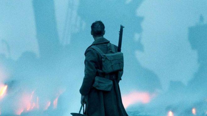 Dunkirk movie scene