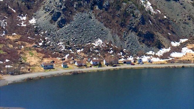 Tilt Cove desde lejos