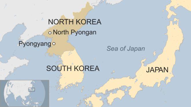 Bắc Hàn đã tiến hành các vụ thử tên lửa và hạt nhân trong những tháng gần đây.